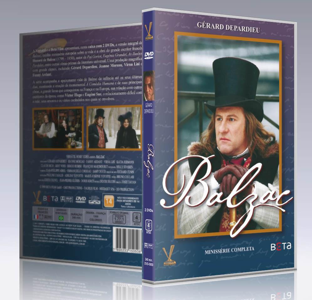 Balzac – Minissérie completa em 2 DVDs – Versátil Home Vídeo