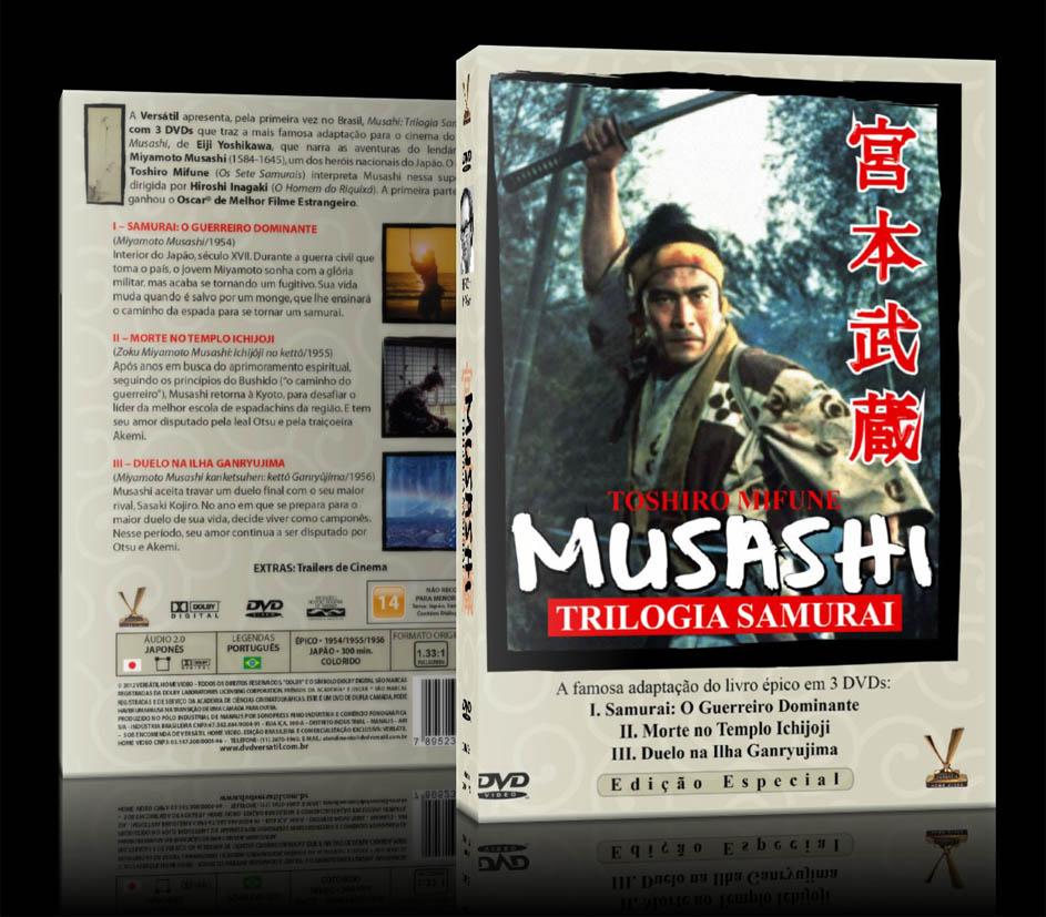 Box DVD -  Musashi Trilogia