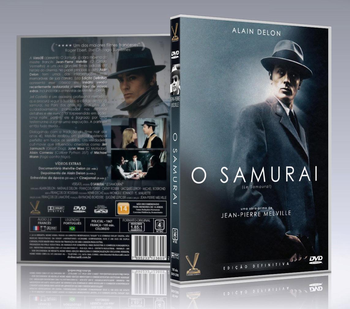 Resultado de imagem para o samurai 1967 dvd
