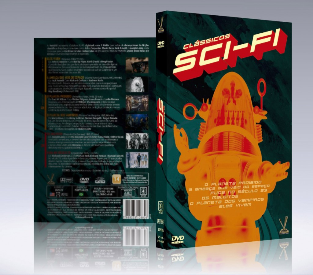 3d - classicos scifi