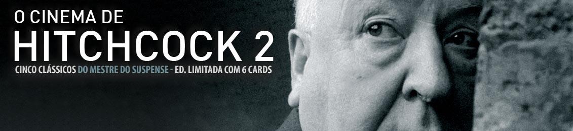 O Cinema de Hitchcock – Vol. 2 – lançamento – exclusivo loja Versátil