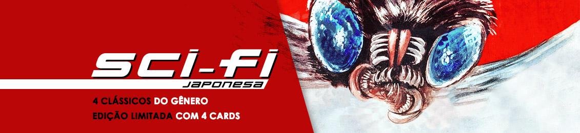 Sci-Fi Japonesa – lançamento – exclusivo loja virtual