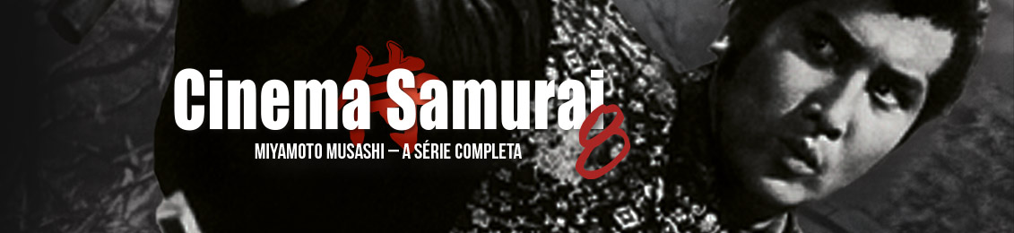 Cinema Samurai 8 – lançamento – exclusivo loja virtual
