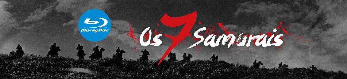 Blu-ray: Os 7 samurais – lançamento – exclusivo loja virtual