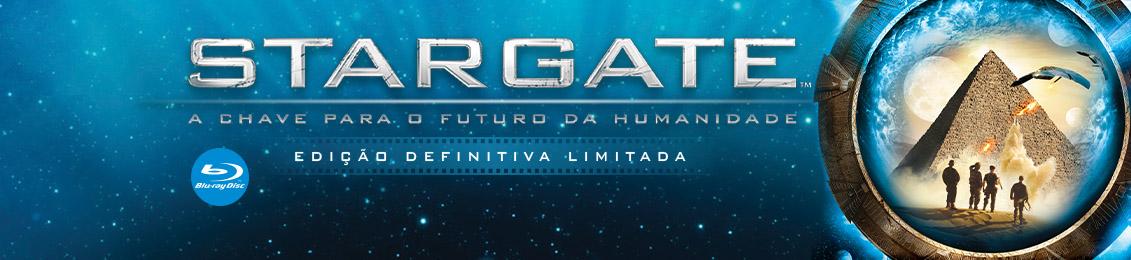 Blu-ray: Stargate – A Chave para o Futuro da Humanidade – lançamento – exclusivo loja virtual