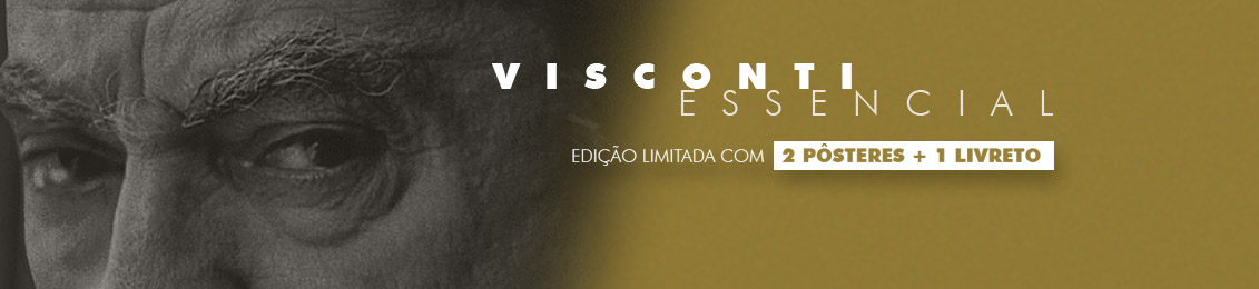 Blu-ray: Visconti Essencial – exclusivo loja virtual